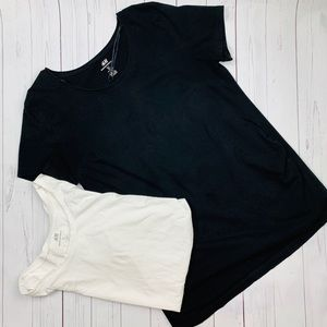 H&M maternity basic tee 2 pieces